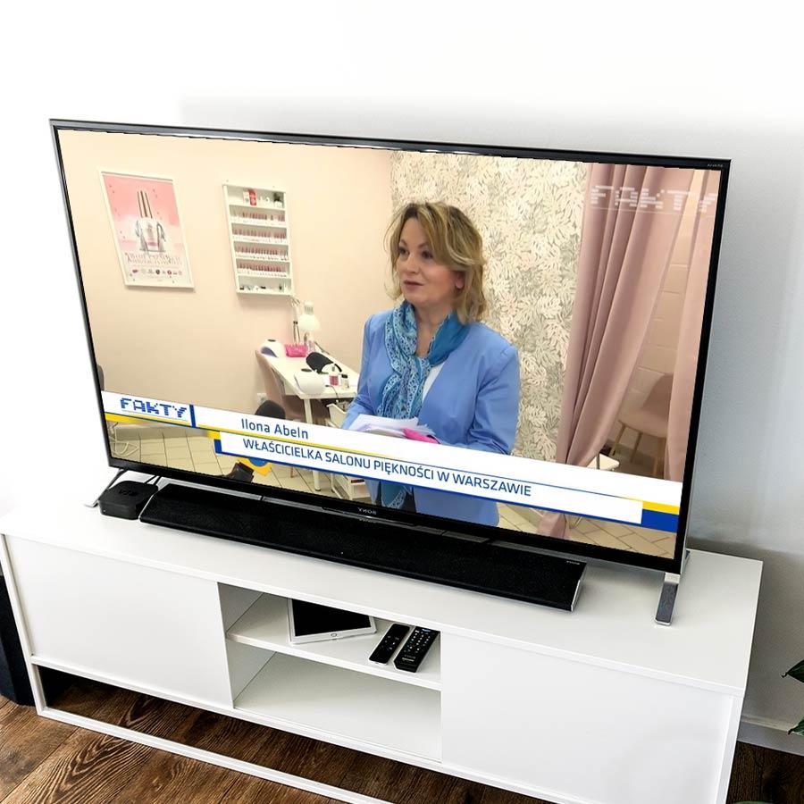TV – Wywiad Fakty TVN – Ilona Abeln